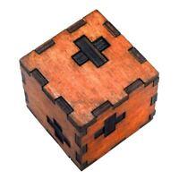 Juguete de inteligencia de madera Juego de rompecabezas chino 3D IQ Puzzle para