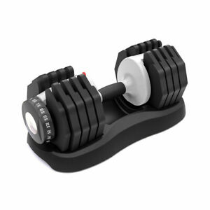 NEW Ativafit Adjustable Dumbbell 55 lbs Weight Train Gym Home Body Workout 1Pcs
