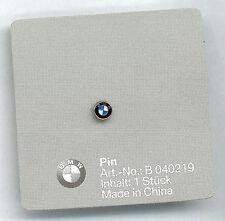 BMW Pin Logo Emblem 5mm glasiert mit original BMW Cartonage