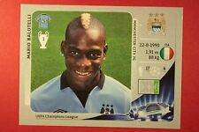 PANINI CHAMPIONS LEAGUE 2012/13 N. 260 BALOTELLI M. CITY BLACK BACK MINT!