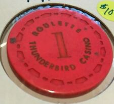 """Vintage Derby Gran Casino Table  """"C"""" Roulette Gaming Chip"""