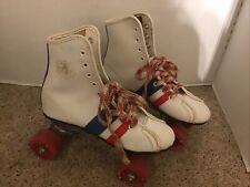 vintage child size 2 Fireball Official Roller Derby Skates