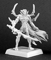 1 x JAVOLITH - WARLORD REAPER miniature figurine rpg jdr d&d dark elf 14152
