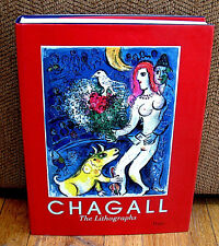 Marc Chagall The Lithographs La Collection Sorlier Catalogue Raisonne HC DJ