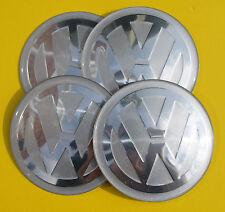 VW VOLKSWAGEN Hub Caps Badge Emblem Stickers 65mm Set EPOXY RESIN ALLOY QUALITY