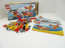 LEGO CREATOR #5866 3 in 1 ROTOR RESCUE Complete Instruction Booklet w Box 2010