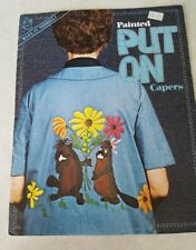 Painted Put On Capers Patterns Mangelsen's Omaha 1976 Booklet mushrooms beaver