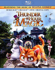 Thunder & The House of Magic Color, Widescreen, 3D, NTSC, Ani