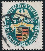 DR 1926, MiNr. 398 X, gestempelt, Befund Schlegel, Mi. 900,-