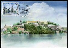 1102 SERBIA 2017 - Cities of Serbia - Novi Sad - Maximum Card - MC