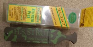 VINTAGE H.S. STRUT FIELD CHAMPION SILENCER PLUS TURKEY BOX CALL NOS