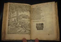 1677 Verdizotti. 100 XILOGRAFIE. Cento favole bellissime autori greci e latini.