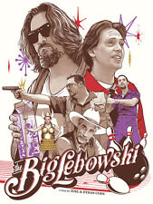 The Big Lebowski Poster - Joshua Budich  - Limited Edition of 100