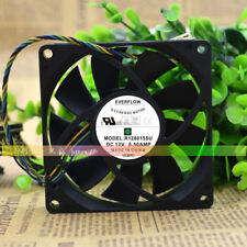 25MM Silent Chassis Fan 1Pcs EVERFLOW 8025 F128025SM 12V 0.14AMP 80