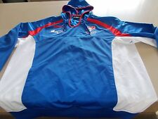NEWCASTLE KNIGHTS-OFFICIAL NRL ISC TRACKSUIT HOODIE TOP - XL-SEE DESC FOR SIZING