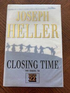 Joseph Heller Closing Time 1994 1st Edition Hardback Book Catch 22 Sequel VGC