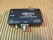 Mirage Kp-1/10M GaAsFet Pre Amp 10 meters - for parts/not working