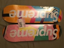 Supreme SS16 Alessandro Mendini Skateboard Deck Skate Collection Set of 2