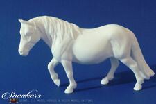 Traditional Size Unpainted Artist Resin Pony Mare, SNEAKERS