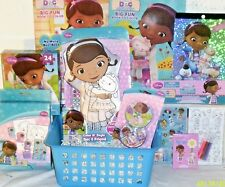 NEW DOC MC STUFFINS EASTER TOY GIFT BASKET DOLL PLAY SET BOOKS GIFT SET