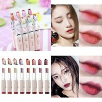 SANUO Two Tone Lip Bar Lipstick Gradient Color Long Lasting Makeup Cosmetics NEW