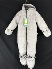 2e84ea0ce HOT PAWS Children Toddler Grey Snow Suit Star Pattern Size 18m NWT