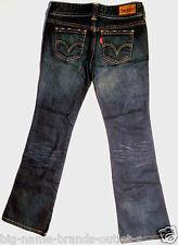 EUC - RRP $149 - Womens Stunning Levi's 'MARISSA BOOTCUT' Indigo Jeans