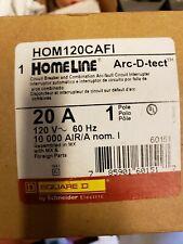 HOM120CAFI Square D Combination Arc-fault Circuit Interrupter (New)