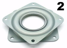 "Two Square 3"" Inch Lazy Susan Turntable Bearings - 5/16"" Thick & 200 LB Capacity"