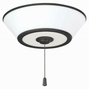 Emerson Euclid LED Ceiling Fan Light Fixture, Oil Rubbed Bronze - LK500ORB