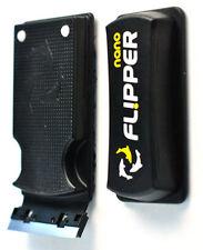 "FLIPPER NANO 2 IN 1 AQUARIUM ALGAE CLEANER FOR GLASS TANKS UP TO 1/4"" - FC25284"