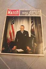 Paris match 814 de 1964 De Gaulle contre JOHNSON , DALI , EL CORDOBES