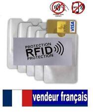 3 Etui ANTI-PIRATAGE Protection carte Bleue Visa bancaire CB ,sans contact RFID