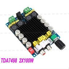 TDA7498 2X100W Classe D Amplificatore Di Potenza Scheda Audio Stereo Board