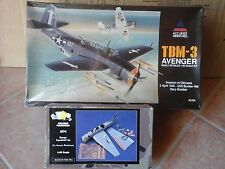 TBM 3 AVENGER US NAVY 1/48 SCALE ACCURATE MINIATURES +SUPERDETAIL SET VERLINDEN