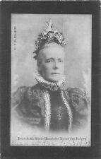 POSTCARD    ROYALTY    BELGIUM  QUEEN    MARIE  HENRIETTE