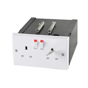 Imitation Double Plug Socket Wall Safe Security Secret Hidden Stash Box
