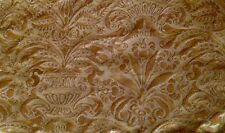 FORTUNY Campanelle I rembrandt rust straw silvery gold cotton new pair remnants