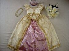 Disney Princess Rapunzel Wedding Costume Dress Up S 5 6 6X