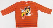 Magliette, maglie e camicie rosso a righe per bambini dai 2 ai 16 anni 100% Cotone