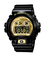 Casio G-Shock GDX6900FB-1C Classic 3-Eye Series Black Gold Resin Digital Watch