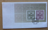 2015 THE FIRST VICTORIA CROSS MINI SHEET FIRST DAY COVER