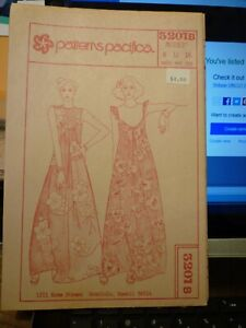 Vintage Patterns Pacifica 3201B -Size MISSES -8-12-16 New and Uncut