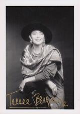 Teresa Berganza --- original firmado - 5#18