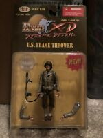 Ultimate Soldier XD 1:18 U.S. Flame Thrower WWII