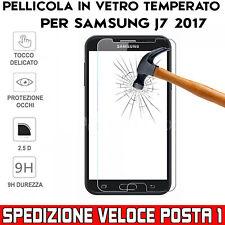 Pellicola per Samsung Galaxy J7 2017 antiurto Vetro Temperato Proteggi Schermo