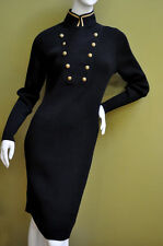 NWT SZ M  Ralph Lauren Jeans Co. Cotton Ribbed Knit Military Sweater Dress