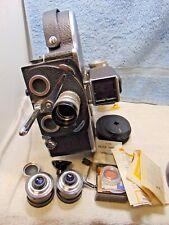 Vintage 1950's Bolex Paillard H16 Reflex Movie Film Camera