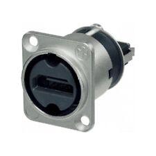 NEUTRIK - NAHDMI-W - Adaptateur de traversée HDMI 2.0 Nickel