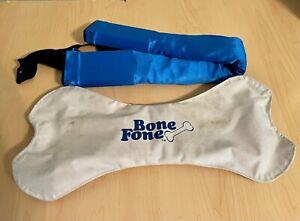 Vintage Bone Fone AM FM Stereo Portable Neck Radio 1979 Excellent Tested Works!